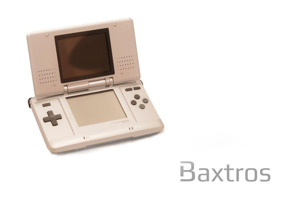 Nintendo ds original silver console baxtros - List of nintendo ds consoles ...