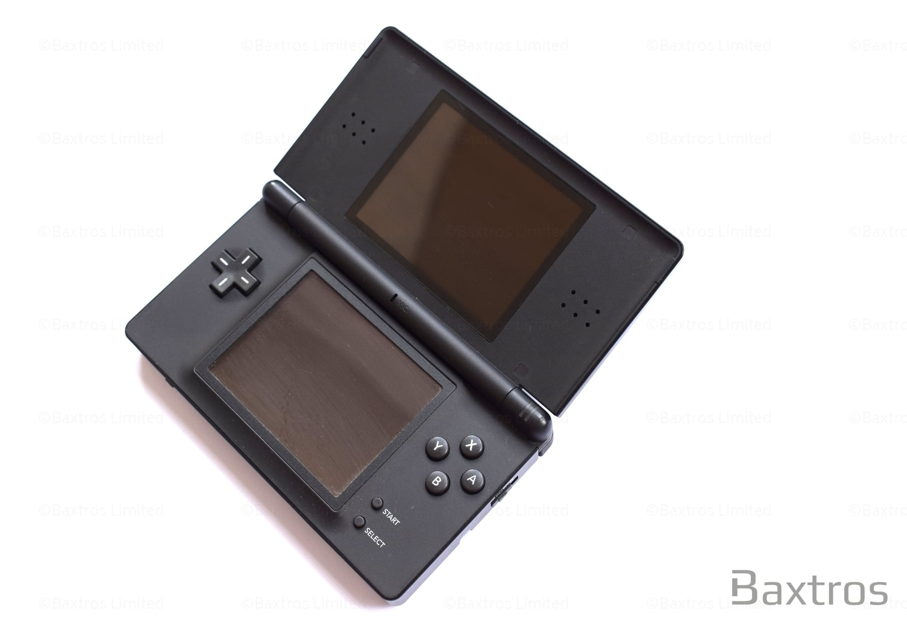 nintendo ds lite black console baxtros. Black Bedroom Furniture Sets. Home Design Ideas