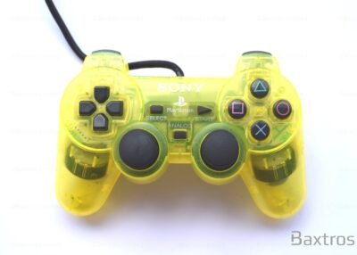 PS2 Original Dual Shock 2 Dual Shock Two Controller Play station Playstation 2 Controller Retro Yellow