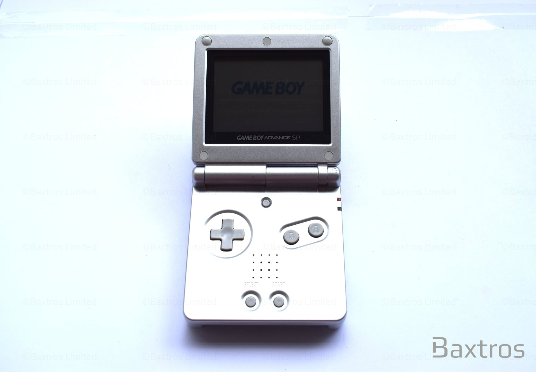 Nintendo Gameboy Sp Silver Retro Gaming From Baxtros Limited