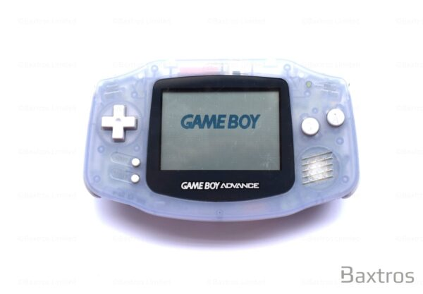 Nintendo Gameboy Advance GBA Game Boy Console Clear