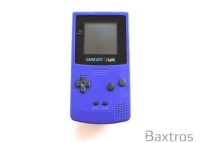 Nintendo Game Boy Color Grape Purple Hand Held Console (c) Baxtros Limited