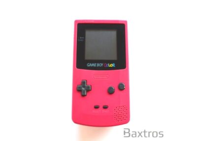 Nintendo Game Boy Color Red Hand Held Console (c)Baxtros Limited