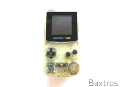 Nintendo Game Boy Color Transparent Hand Held Console (c)Baxtros Limited