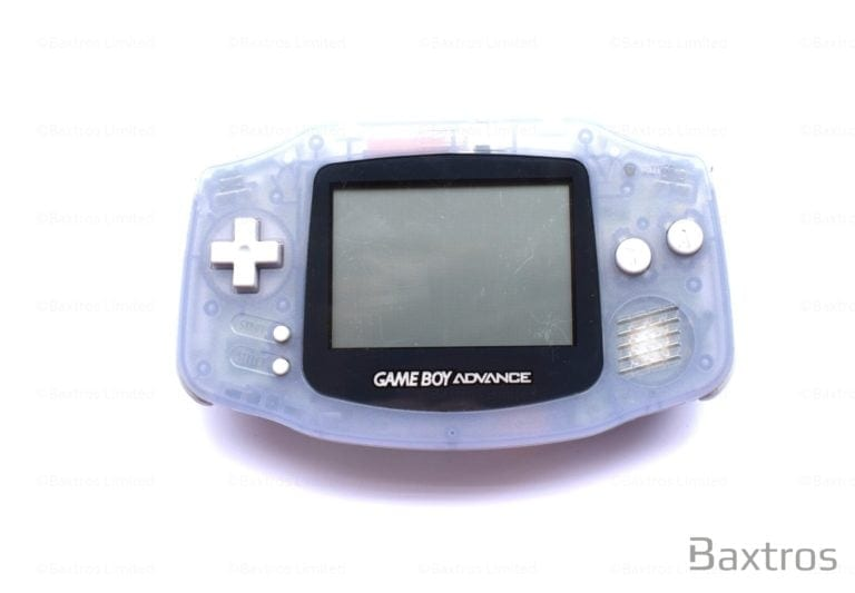 Nintendo Gameboy Advance GBA Clear Console (c) Baxtros Limited