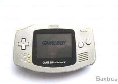 Nintendo Gameboy Advance GBA Silver Console (c) Baxtros Limited