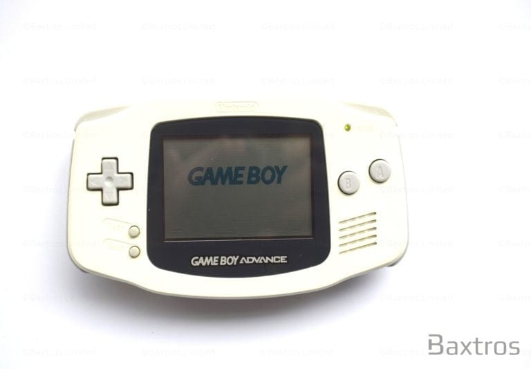 Nintendo Gameboy Advance GBA White Console (c)Baxtros Limited