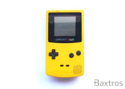 Nintendo Gameboy Color Yellow Console (c)Baxtros Limited