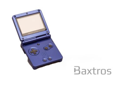 Nintendo Gameboy SP Blue Console from Baxtros.co.uk