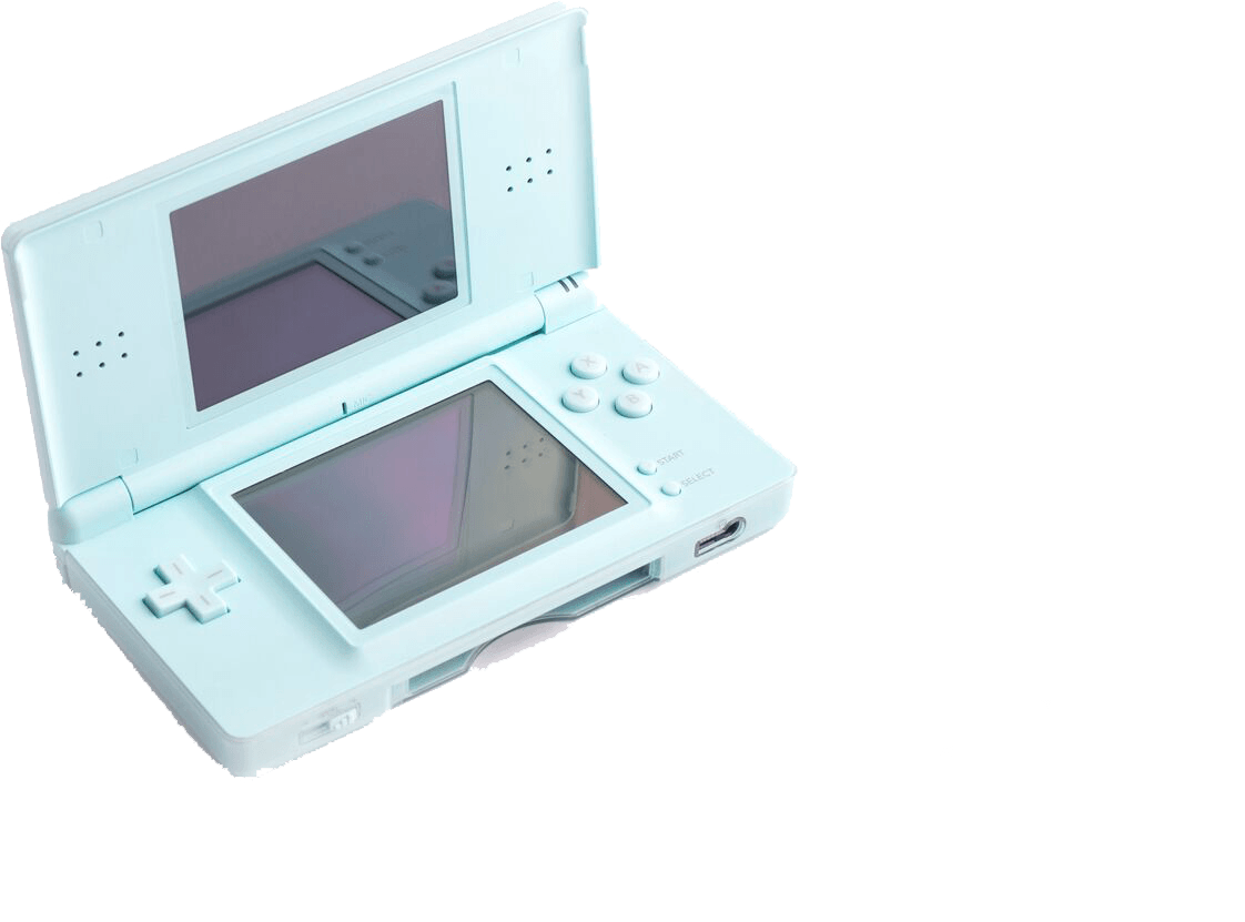 DS Lite turquoise console buy retro gaming directly from Baxtros UK