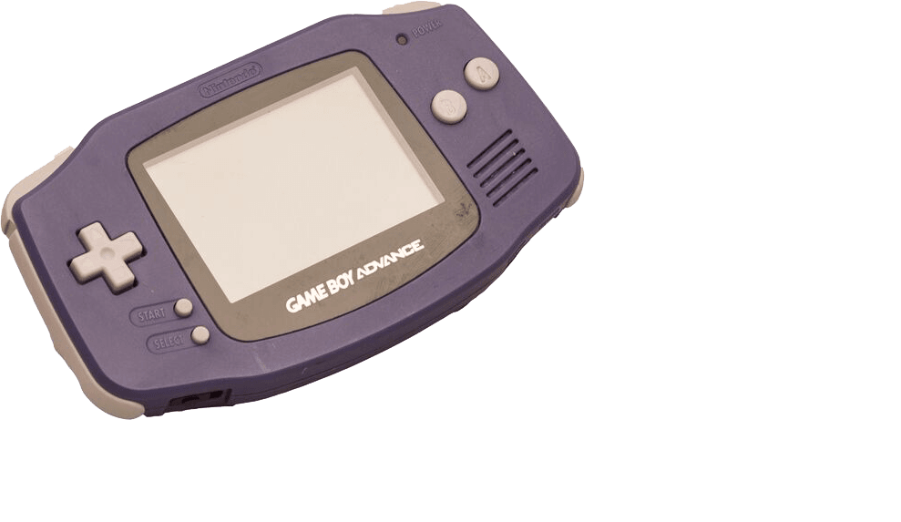 Purple Gameboy Advance buy retro gaming directly from Baxtros UK