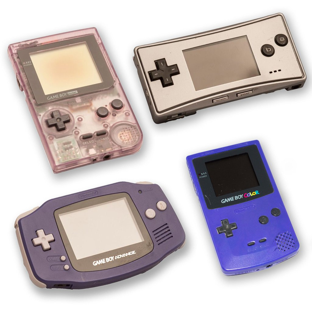 refurbished gaming consoles for sale gameboy