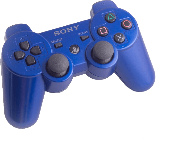 DS3 Blue controller to buy online | retro gaming from Baxtros