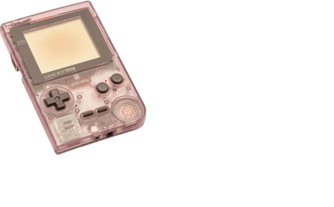 Transparent Pocket Gameboy console to buy online