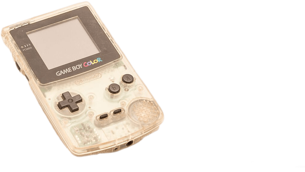 Transparent Gameboy Color to buy online