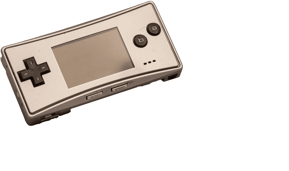 Silver Micro Gameboy to buy online