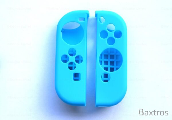 Nintendo Switch Blue Joy Controller Case With Thumb Joy Caps