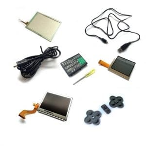 Nintendo DS and DS lite accessories and replacement parts