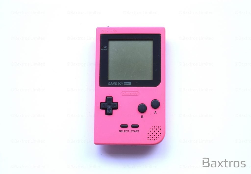 Pink Gameboy Color