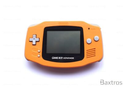 Nintendo Gameboy Advance GBA Orange Console (c) Baxtros Limited