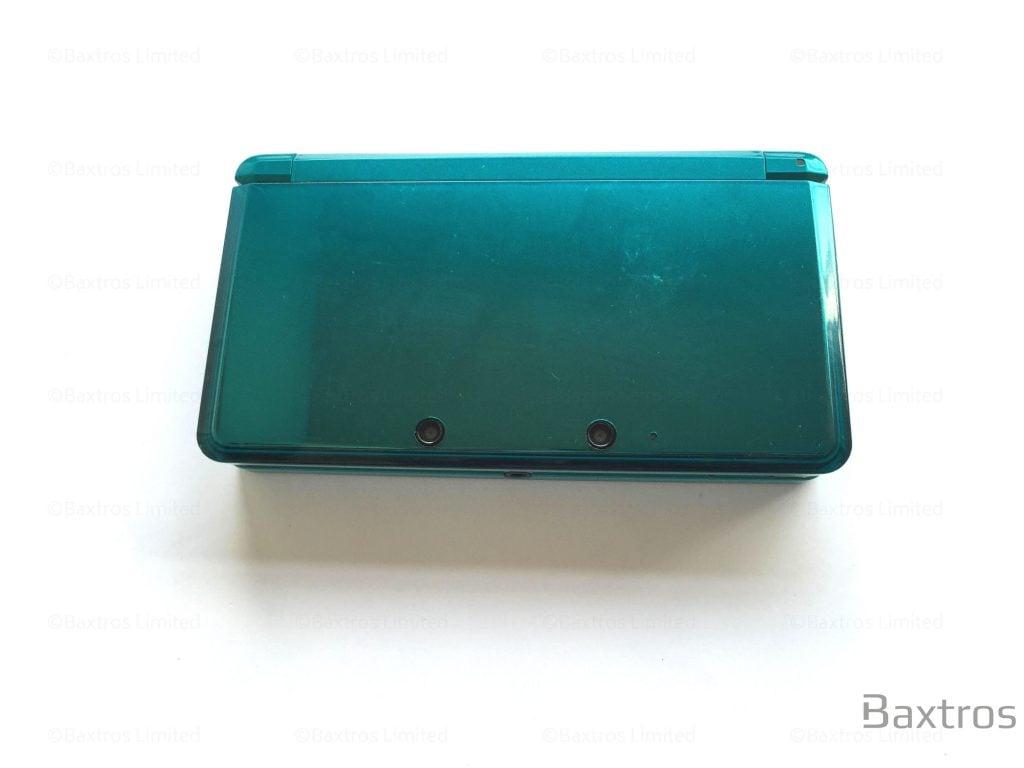 Nintendo 3DS Aqua Blue Console Grade A Condition | Baxtros