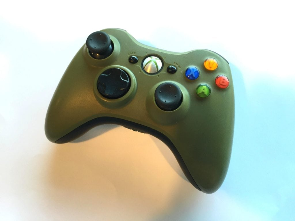 Official Microsoft Xbox 360 Wireless Controller Halo 3 ...