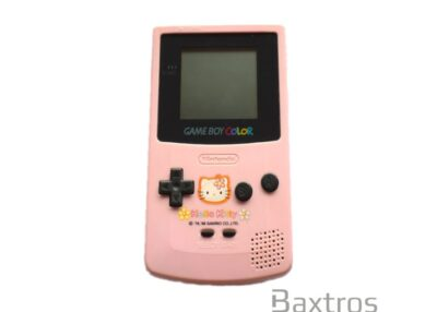 Nintendo Game Boy Color Console Pink Hello Kitty Special Edition (c) Baxtros Limited