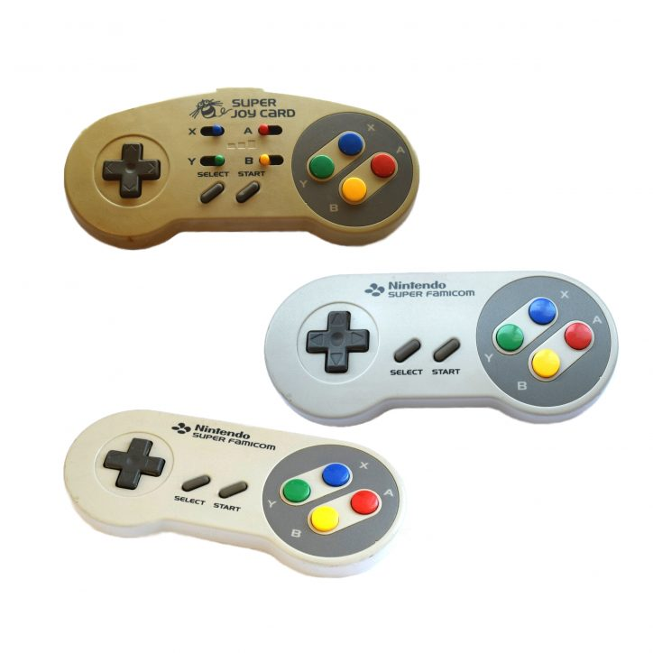 SNES controller bubble