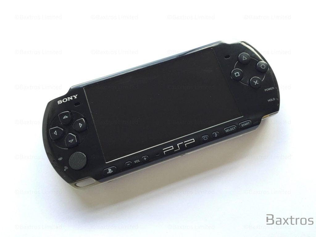 Sony Psp 2000 Console Black Baxtros