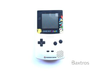 Gameboy Color Pokémon Center Console Silver & Gold Iridescent Limited Edition (c) Baxtros Limited