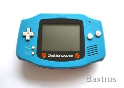 Nintendo Gameboy Advance Rockman Custom Blue Limited Edition Console (c)Baxtros Trading