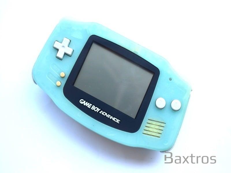 Nintendo Gameboy Advance Gba Agb 001 Nintendo Light Blue Chobits Edition