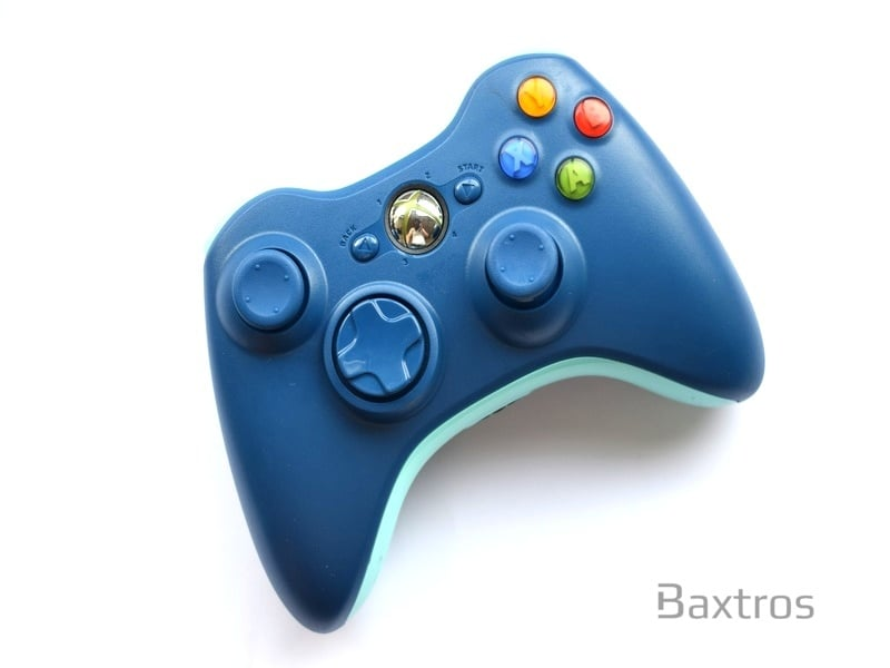 Official Microsoft Xbox 360 Elite Wireless Controller Call of Duty Blue