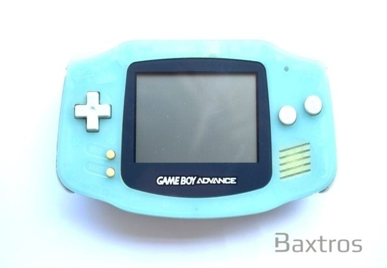 Nintendo Gameboy Advance GBA AGB 001 Nintendo Light Blue Chobits Edition (c) Baxtros Limited