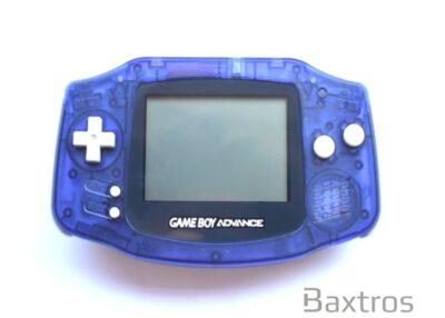 Nintendo Gameboy Advance GBA Midnight Blue Console (c) Baxtros Limited