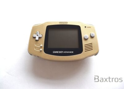 Nintendo Gameboy Advance Gold Zelda Console (c) Baxtros Limited