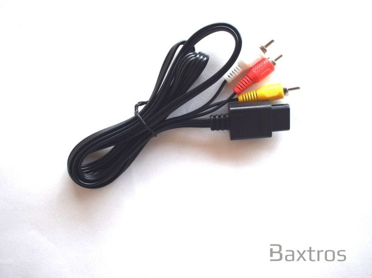 Nintendo N64 AV RCA Cable (c) Baxtros Limited