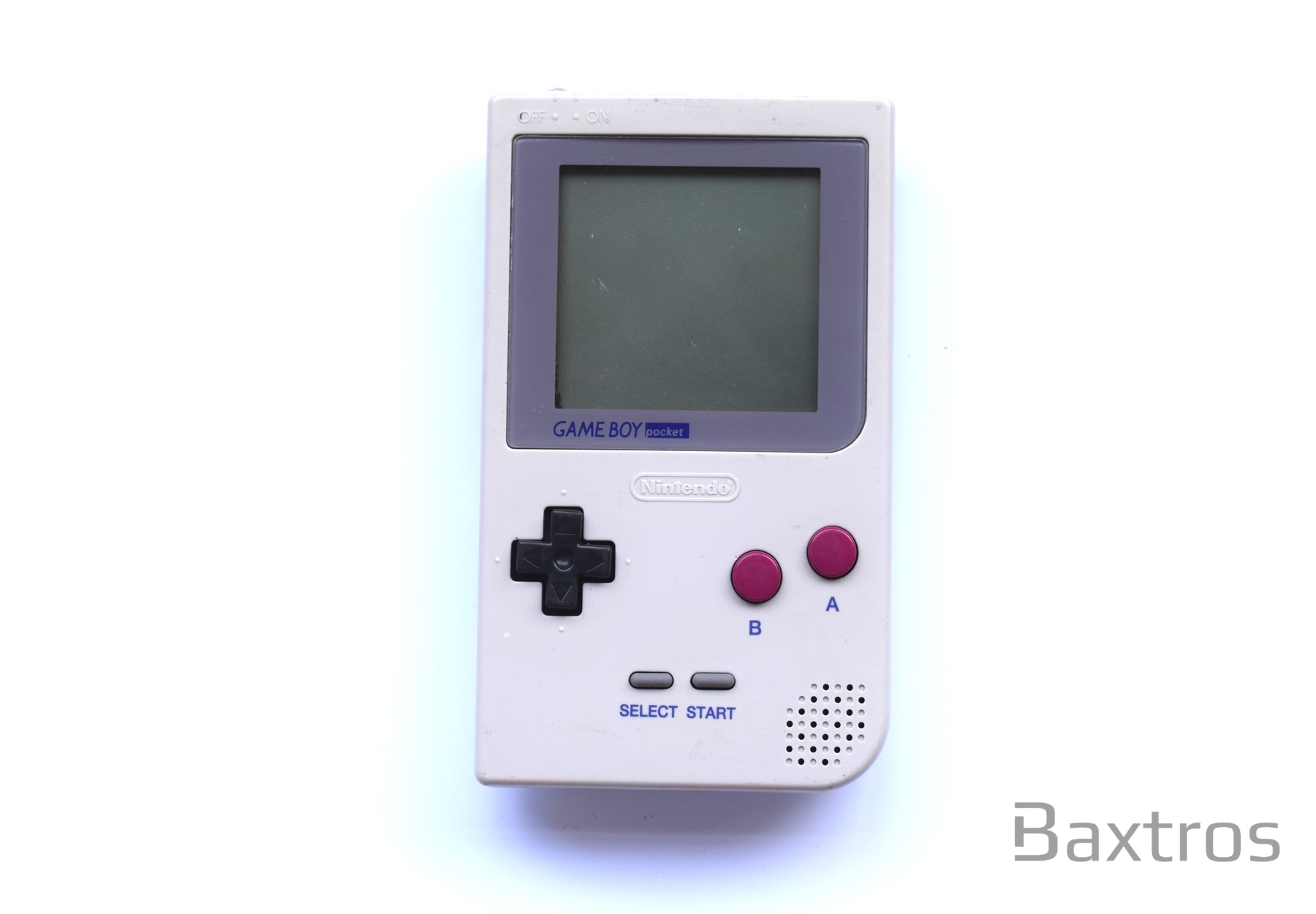 Nintendo Gameboy Pocket Off White DMG 01 Grey Console