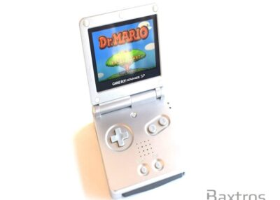 Nintendo Gameboy Advance GBA SP Backlit Console Aqua AGS 101