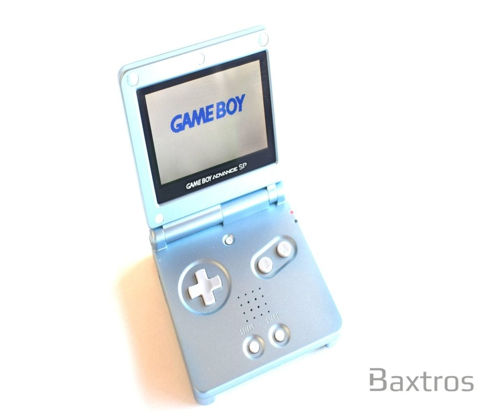 Nintendo Gameboy Advance GBA SP Backlit Console Aqua AGS 101 Backlight LCD  Mod