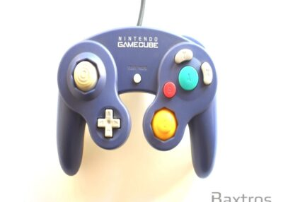 Nintendo Game Cube Controller Purple Transparent