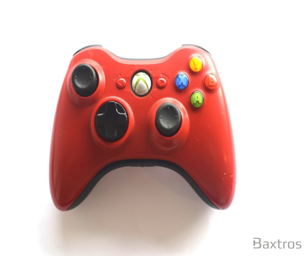 Official Microsoft Xbox 360 Elite Wireless Controller Red Grade B