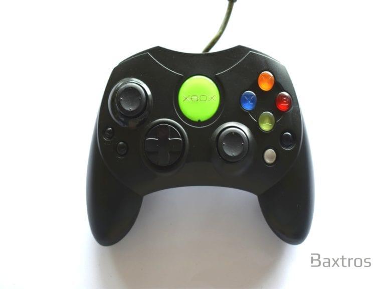 Microsoft Xbox Original S Controller Black