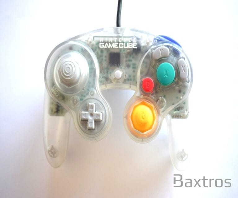 Nintendo Game Cube Controller Crystal Clear