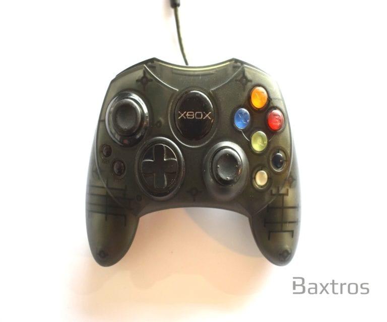 Microsoft Xbox Original S Controller Skeleton Black