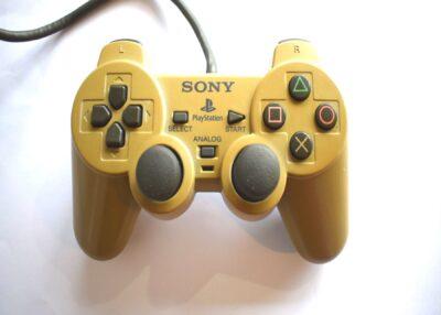 PS1 Official Dual Shock Controller Grey Grade B