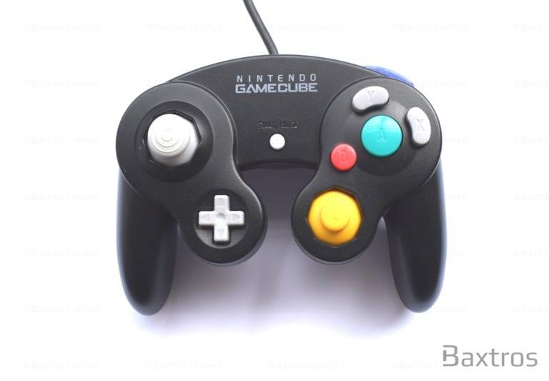 Nintendo Game Cube Controller Black Discounted